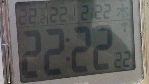 家族全員の協力で本気の22歳の2月22日22時22分22秒の写真