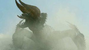 """映画「モンスターハンター」より""""ディアブロス亜種が公開、近代兵器で戦う異世界もの!"""